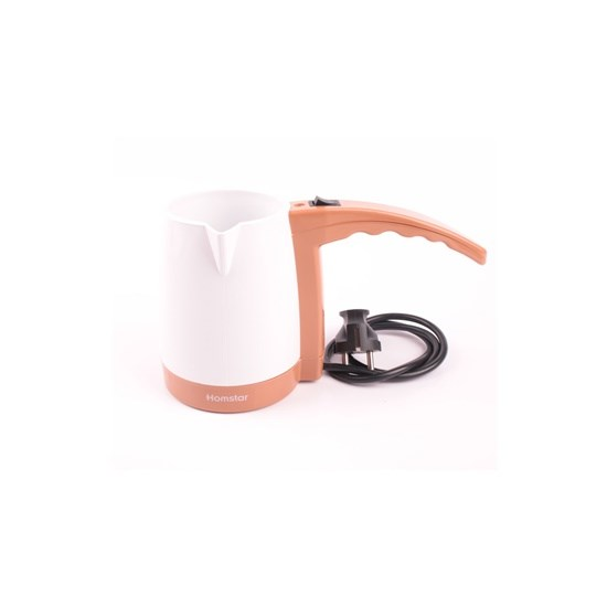 Homstar Elektrikli Cezve HS-3050 Kahve Makinesi Beyaz