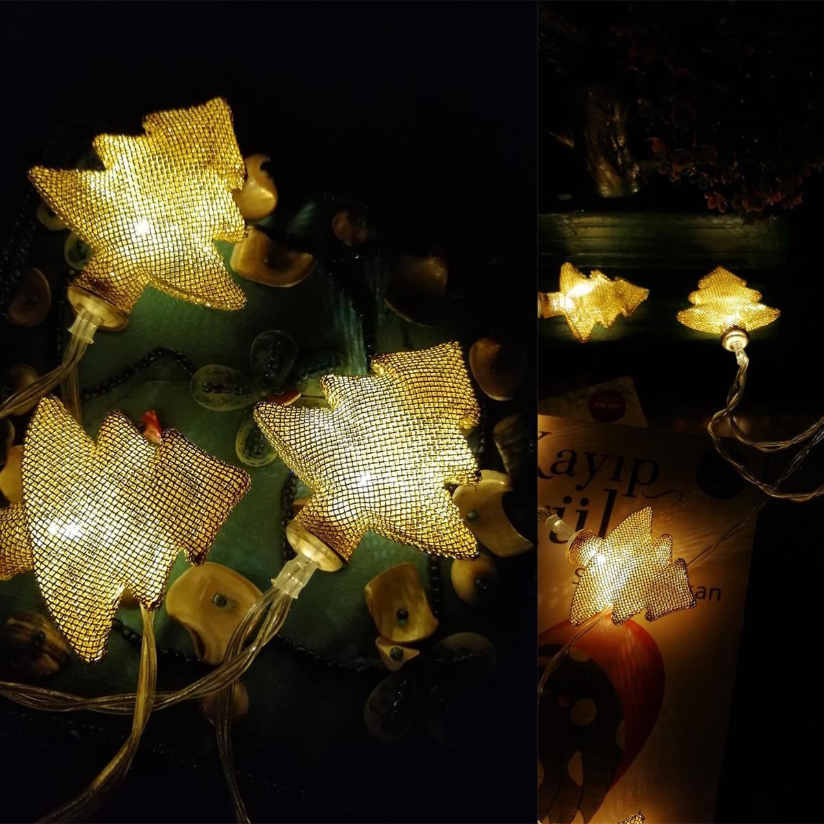 Metal Örgülü Çam Ağacı Şeklinde Günışığı Şerit Led Işık Zinciri Fiyatı ve  Özellikleri - GittiGidiyor